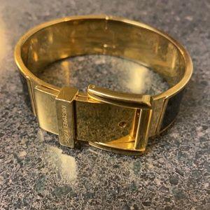 Michael Kors gold and black bracelet